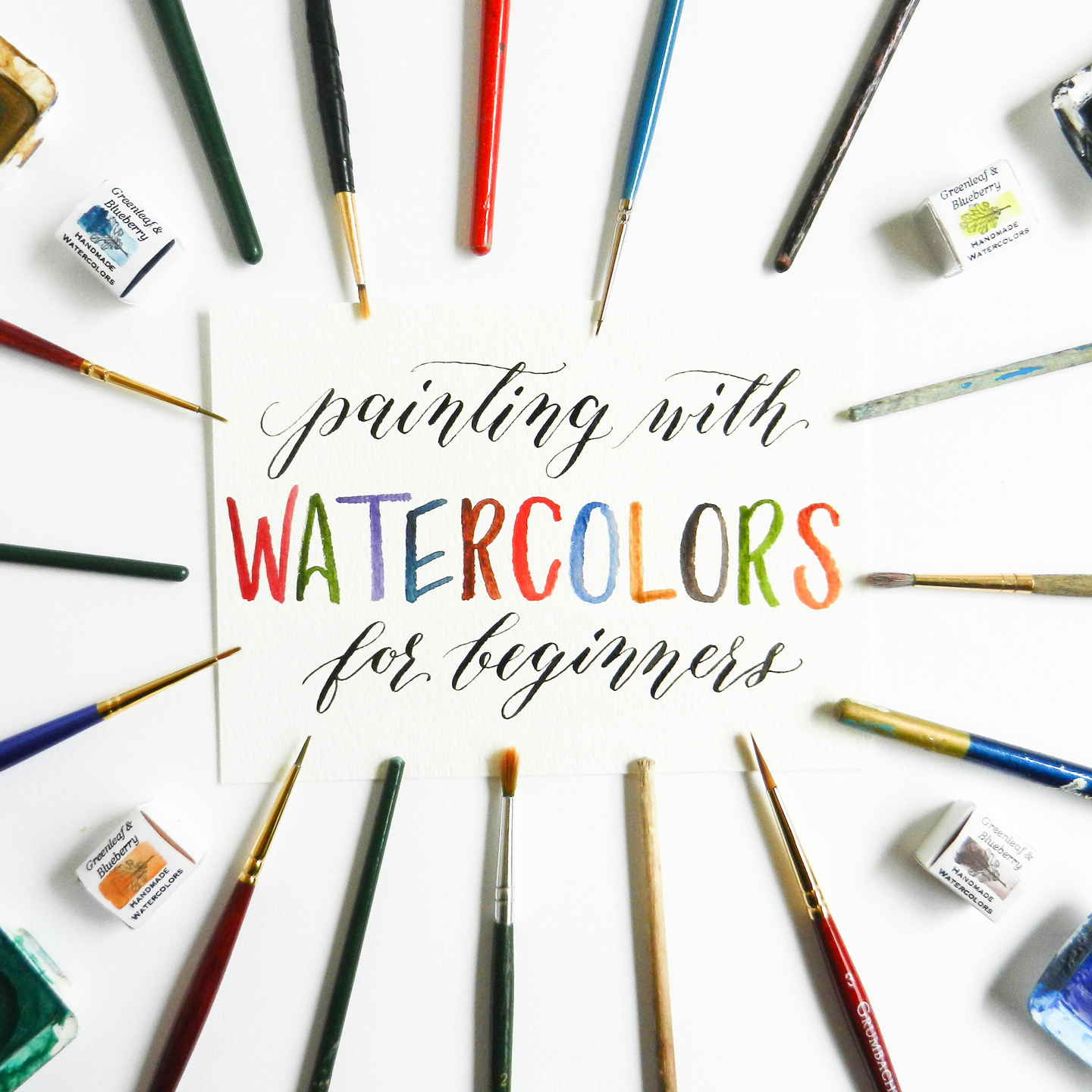 how to use watercolor paint for beginners