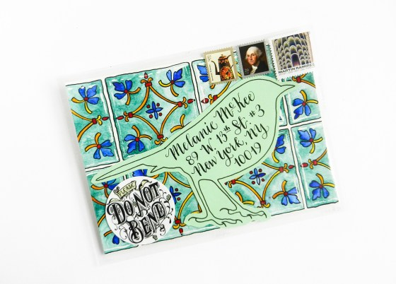 Amy Style Calligraphy Mail Art | The Postman's Knock