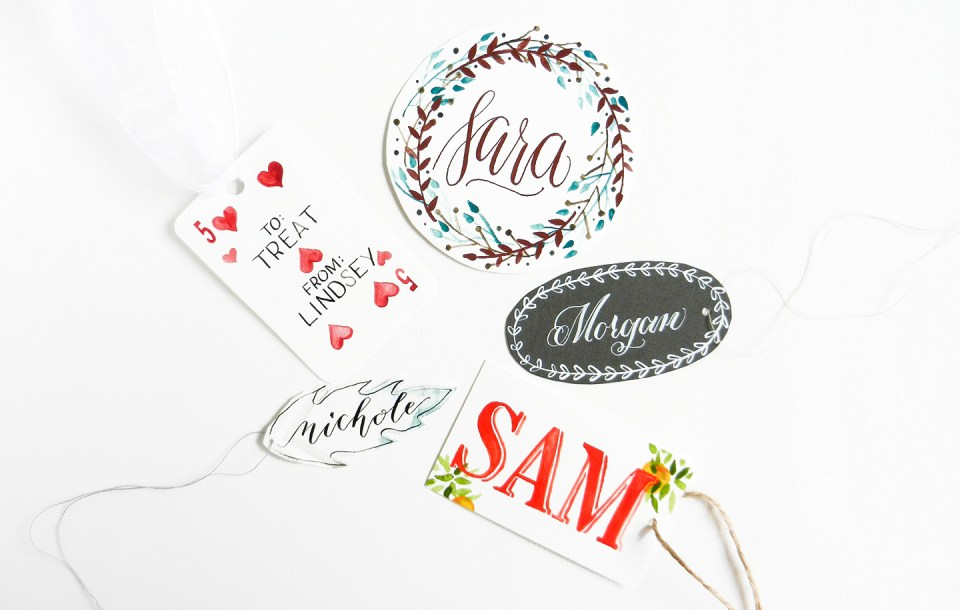 Five Fresh Gift Tag Ideas | The Postman's Knock