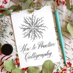 How to Practice Calligraphy | The Postman's Knock