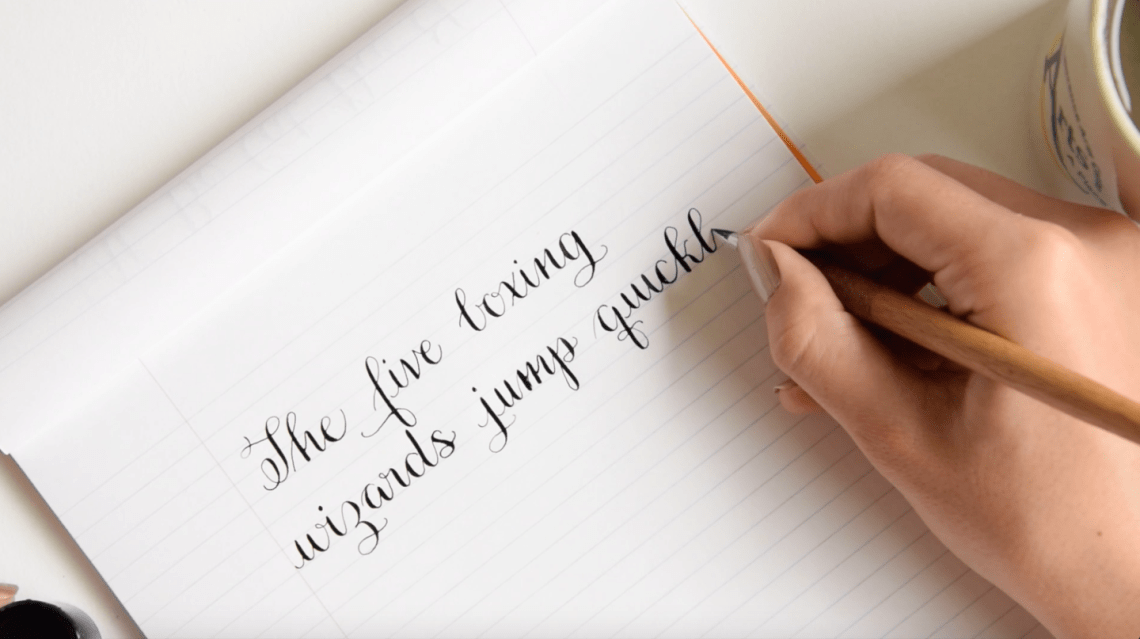 Amy Style Calligraphy Video Course | The Postman's Knock