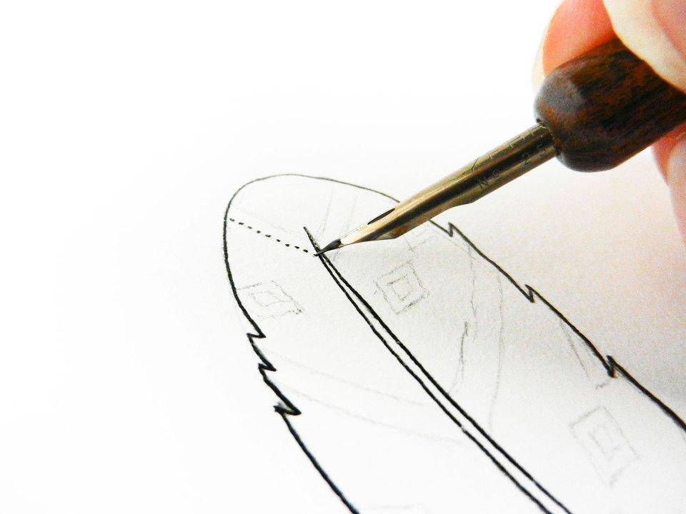 Three Simple Illustration Tutorials: Feathers   The Postman's Knock