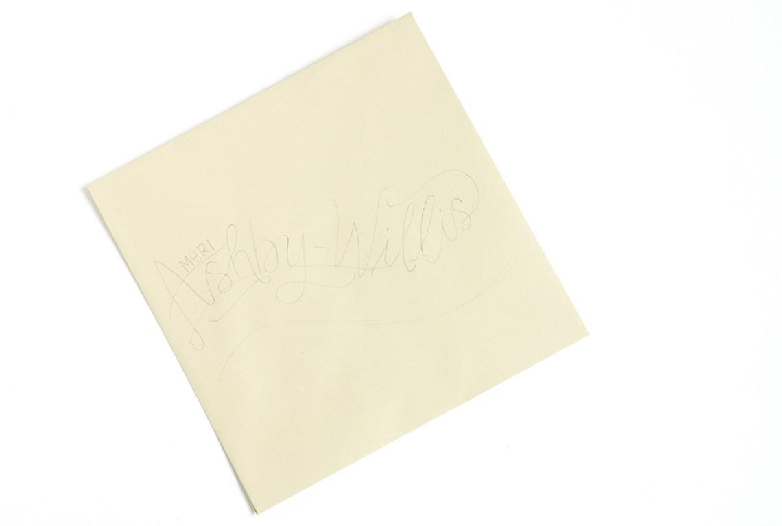 Breezy Hand-Lettering Tutorial   The Postman's Knock