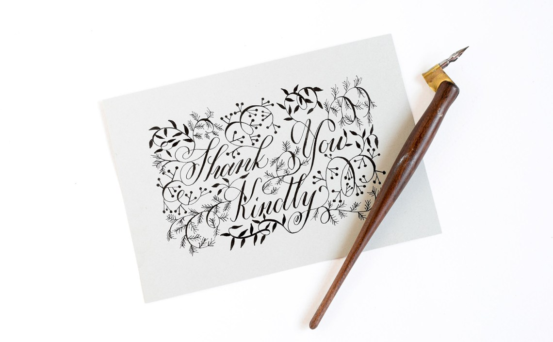 Three Fresh Lettering Styles to Try | The Postman's Knock