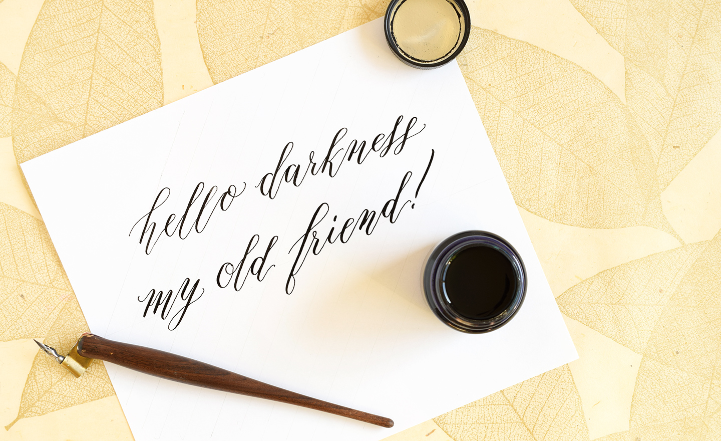 Calligraphy tips to improve your writing slant the postman s