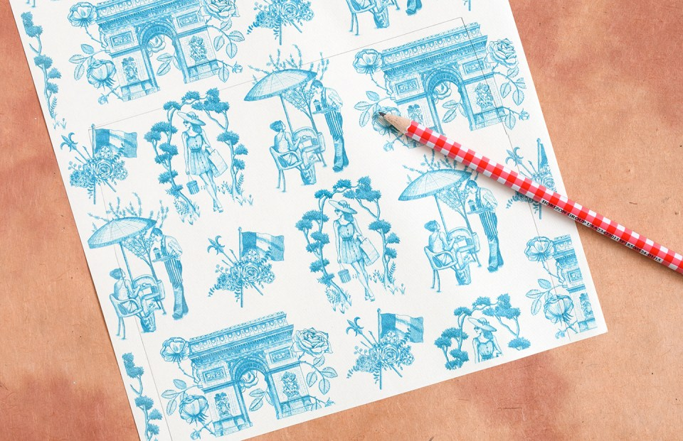How to Make DIY Envelope Liners   The Postman's Knock
