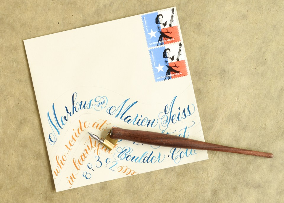Calligraphy spacing tips and techniques the postmans knock envelope calligraphy spacing tips and techniques the postmans knock thecheapjerseys Images
