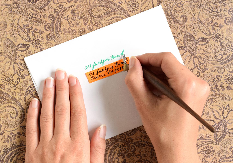 Four Artistic Ways to Write a Return Address | The Postman's Knock