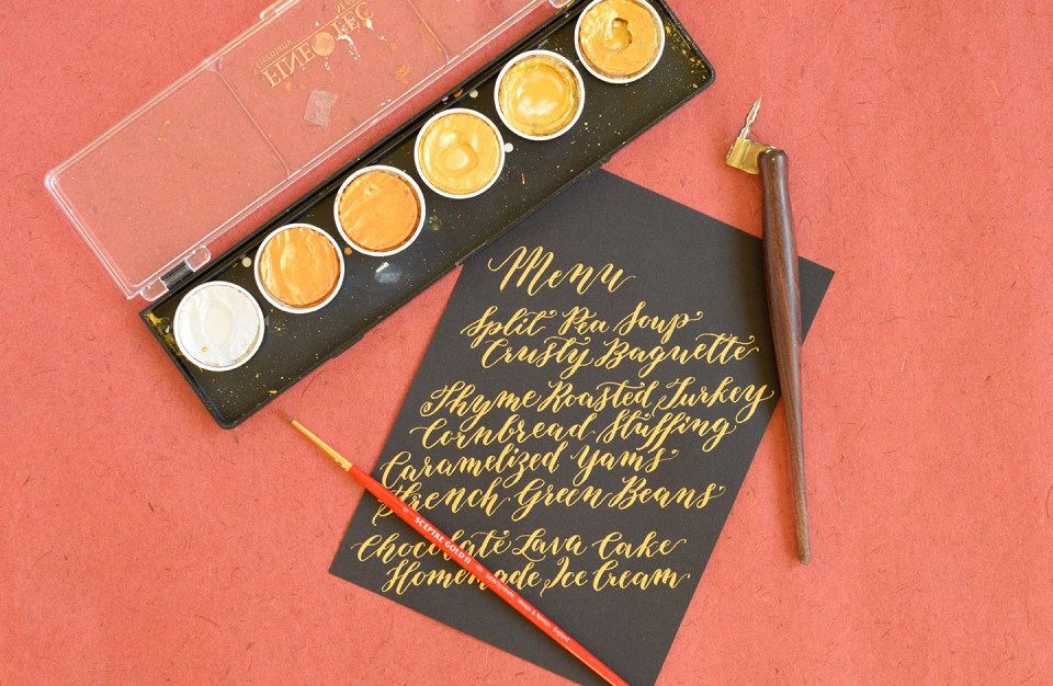 """Seven """"Special Treat"""" Calligraphy Supplies   The Postman's Knock"""