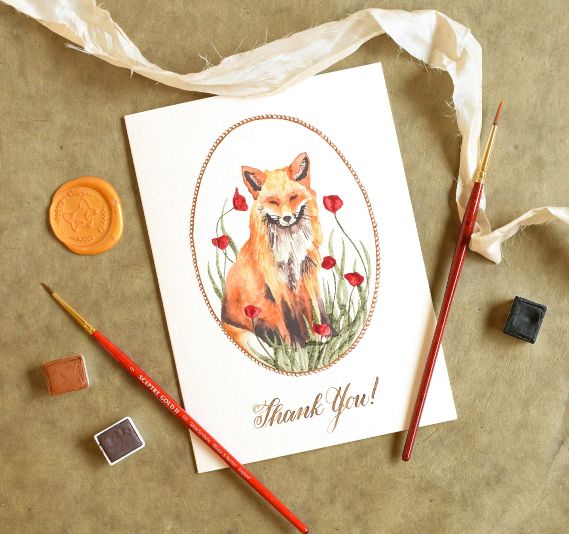 """Seven """"Special Treat"""" Calligraphy Supplies 