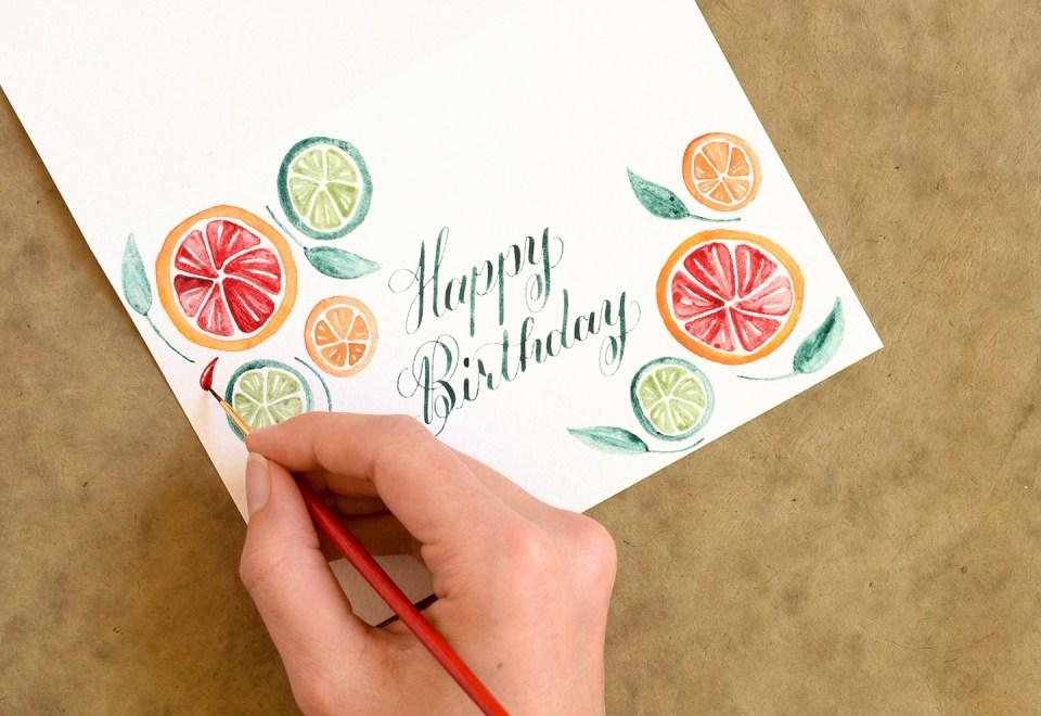 Design Motif Tutorials Part II: Citrus Fruits | The Postman's Knock