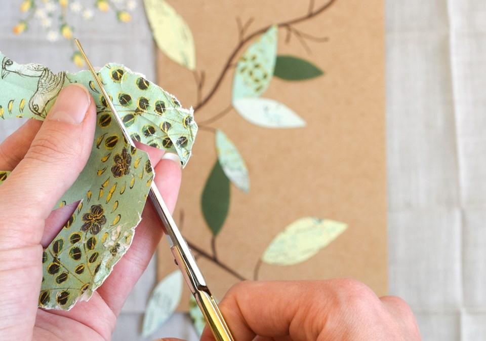 Leafy Homemade Birthday Card Tutorial | The Postman's Knock