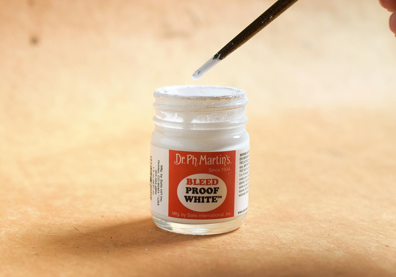 White Calligraphy Ink Showdown Part II: Bleedproof White + Winsor & Newton | The Postman's Knock