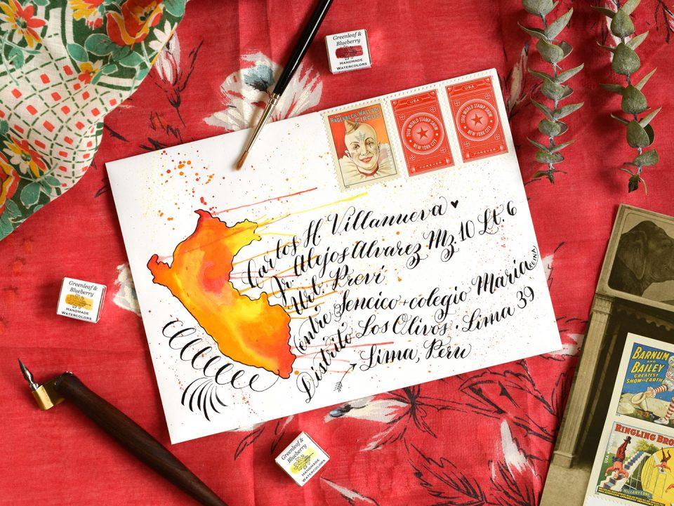 Three Decorated Envelopes Mini Tutorials | The Postman's Knock