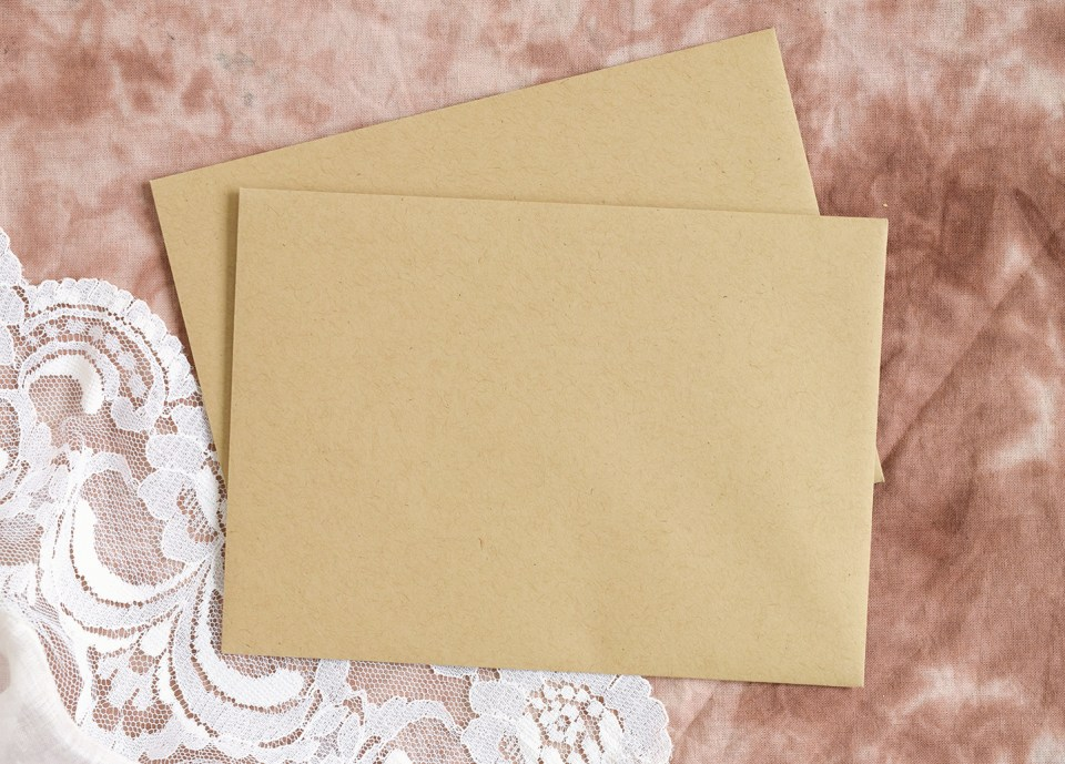 DIY Fabric Invitations | The Postman's Knock