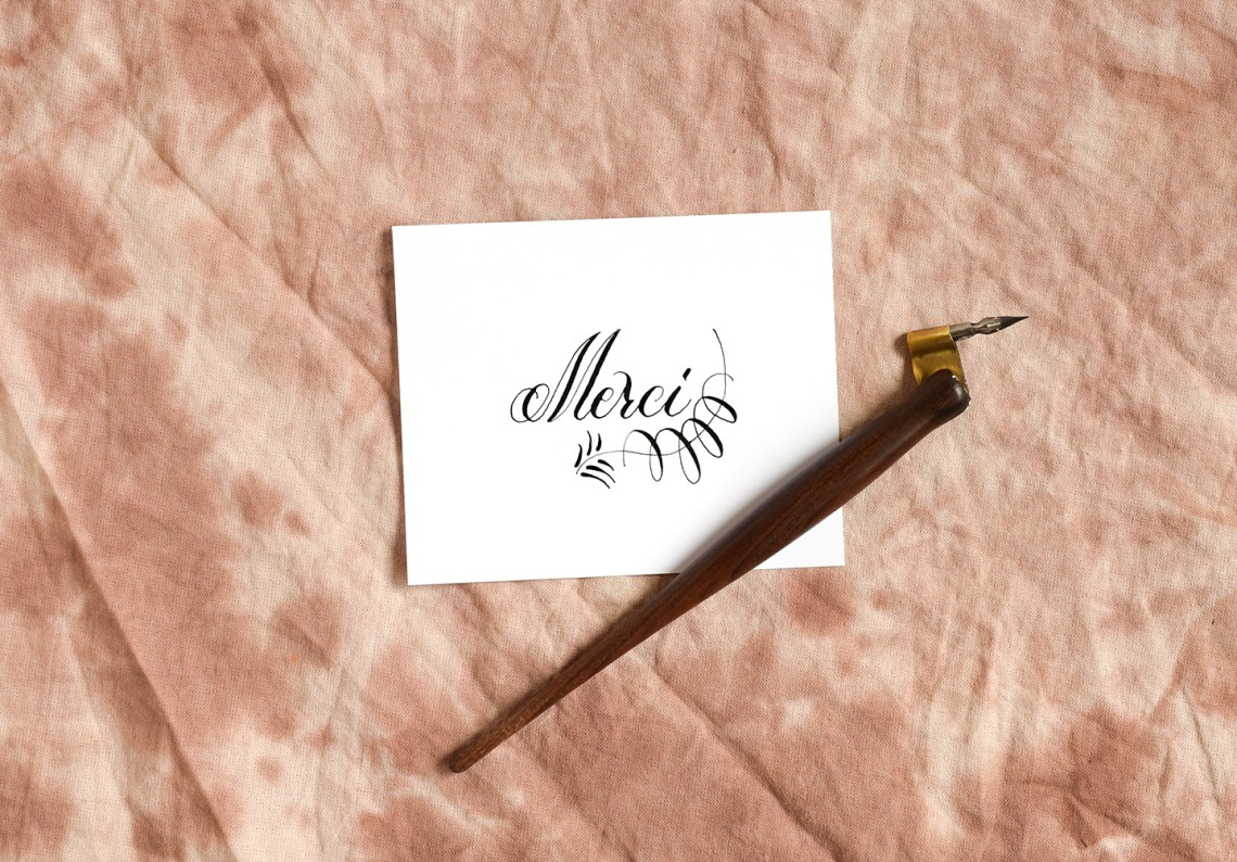 Three simple calligraphy flourishes includes videos