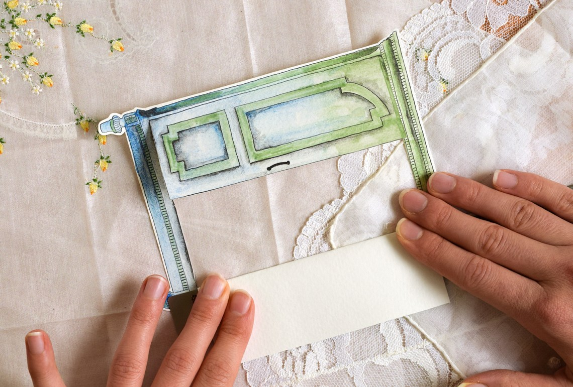 Creative Birthday Card Tutorial: Paper Armoire | The Postman's Knock