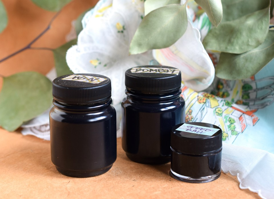 Black Calligraphy Inks Comparison Part II: Bombay, Speedball, and Winsor & Newton | The Postman's Knock