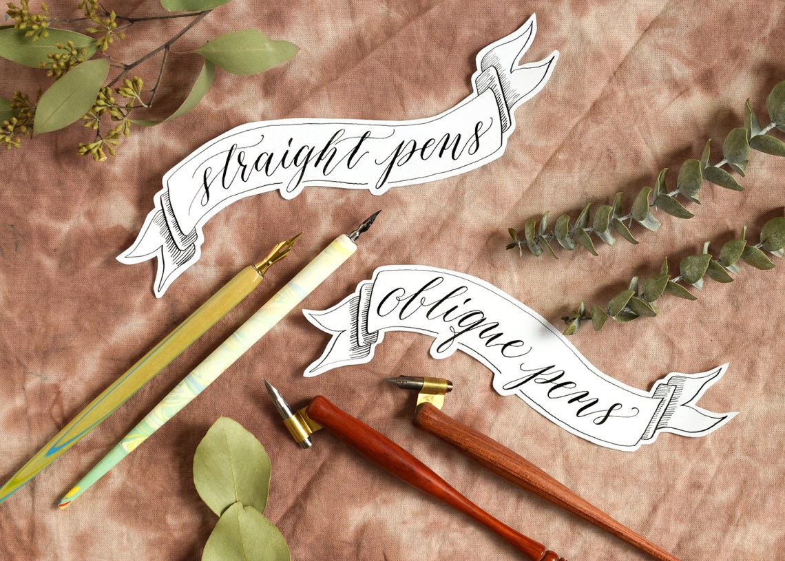 Which Calligraphy Writing Utensil is Best for You? – Part II | The Postman's Knock
