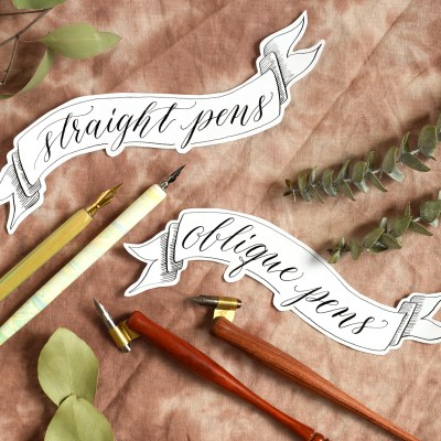 Which Calligraphy Writing Utensil is Best for You? – Part II + Giveaway