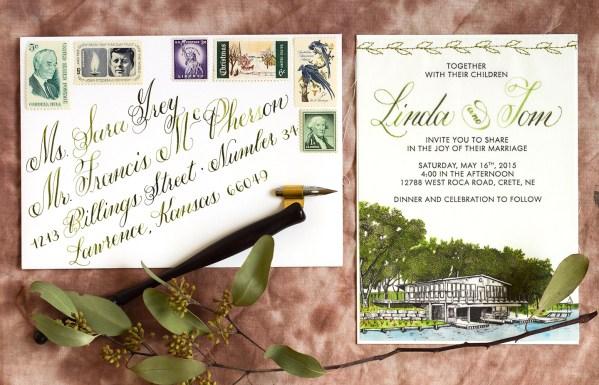 Nebraska Wedding Invitations