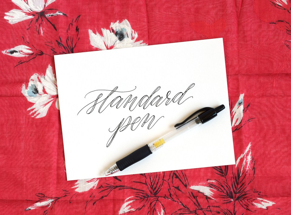 Which Calligraphy Writing Utensil is Best for You? | The Postman's Knock