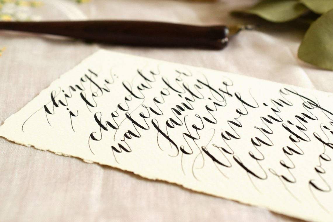 5 Reasons To Learn Hand Lettering And Calligraphy The