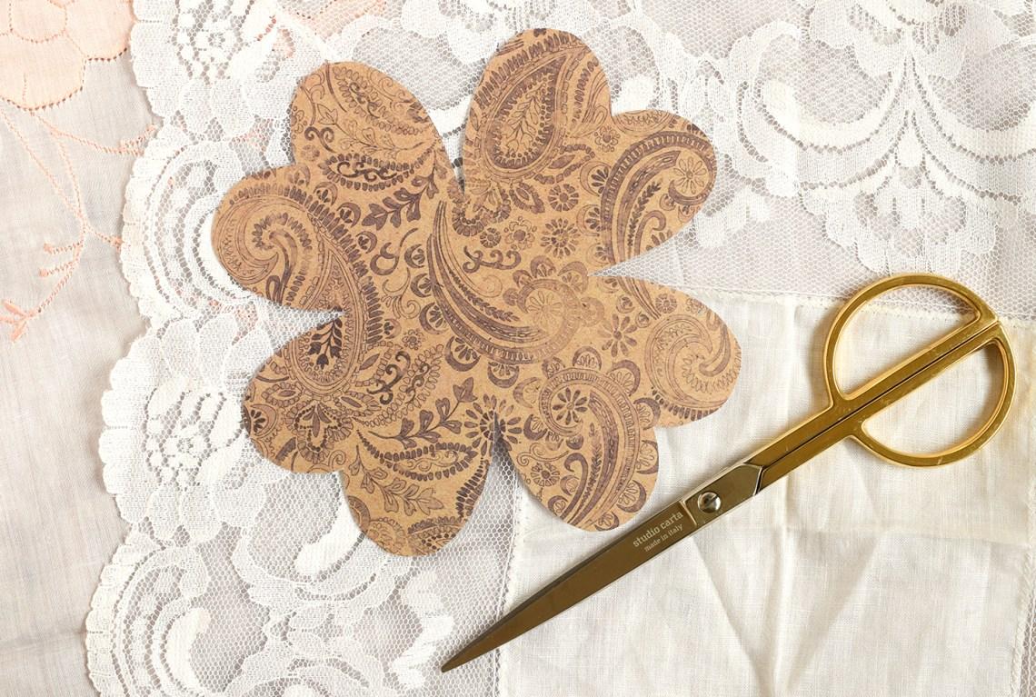 Folded Heart Handmade Card Tutorial   The Postman's Knock