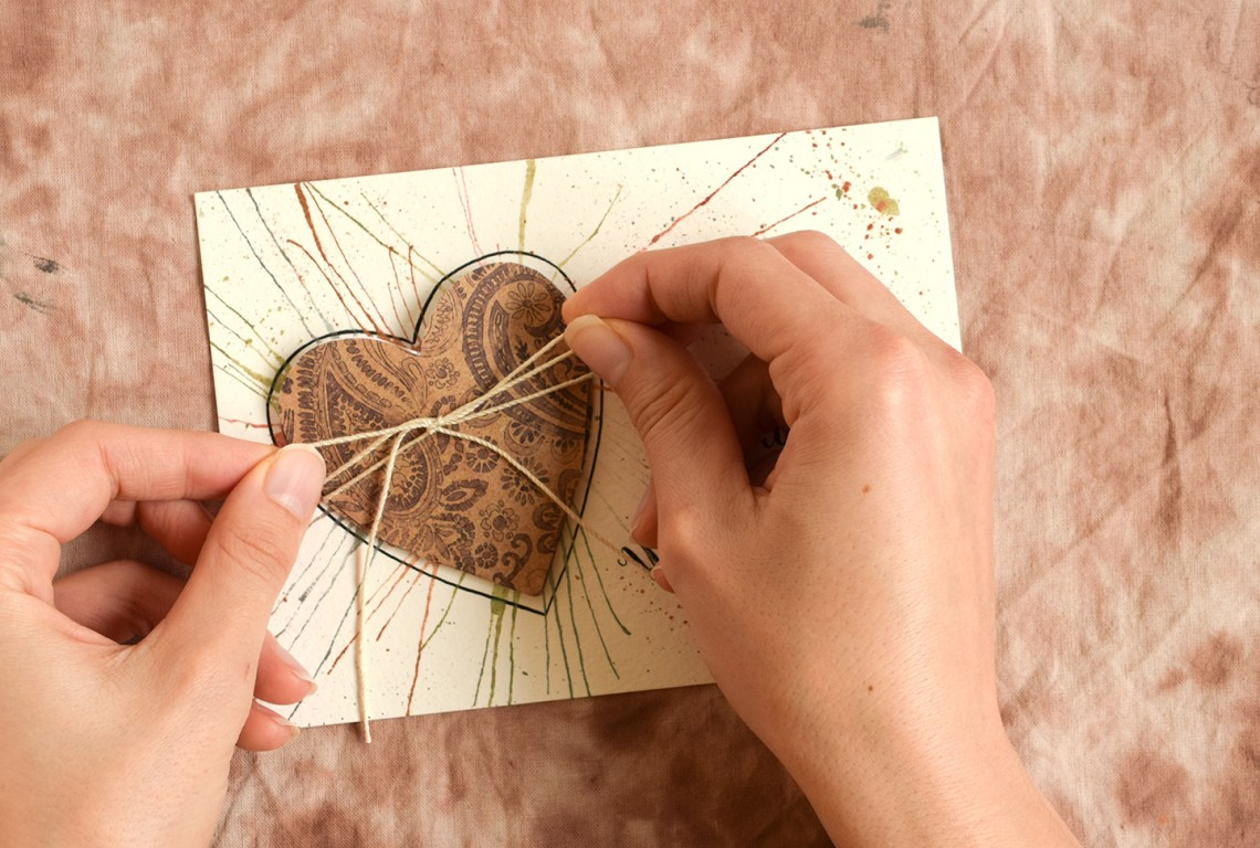 Folded Heart Handmade Card Tutorial | The Postman's Knock