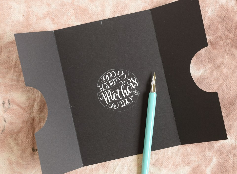 Simple Mother's Day Card Tutorial | The Postman's Knock