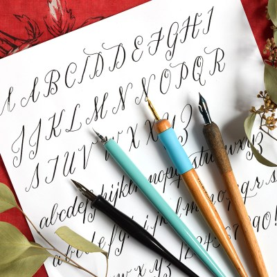 A Guide to Straight Calligraphy Pens