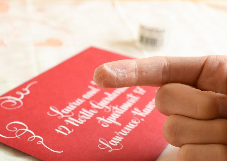 How to Waterproof Paper | The Postman's Knock