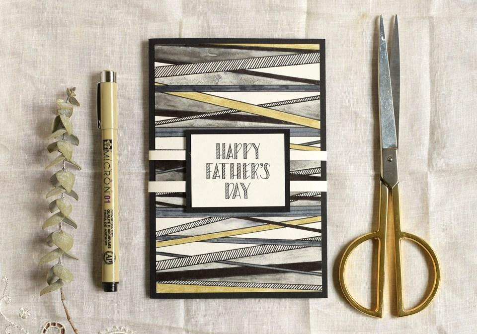 Not Your Average Father's Day Card Tutorial | The Postman's Knock