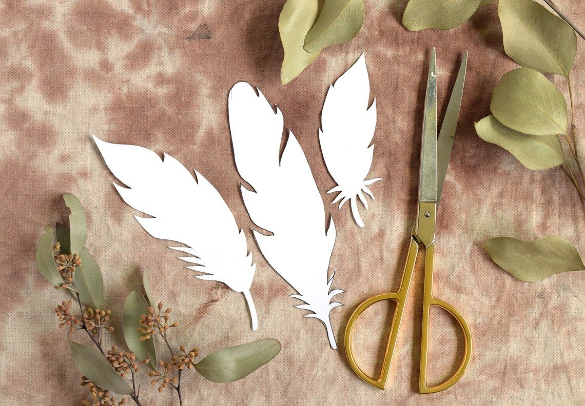 Paper Feathers Tutorial Part II   The Postman's Knock