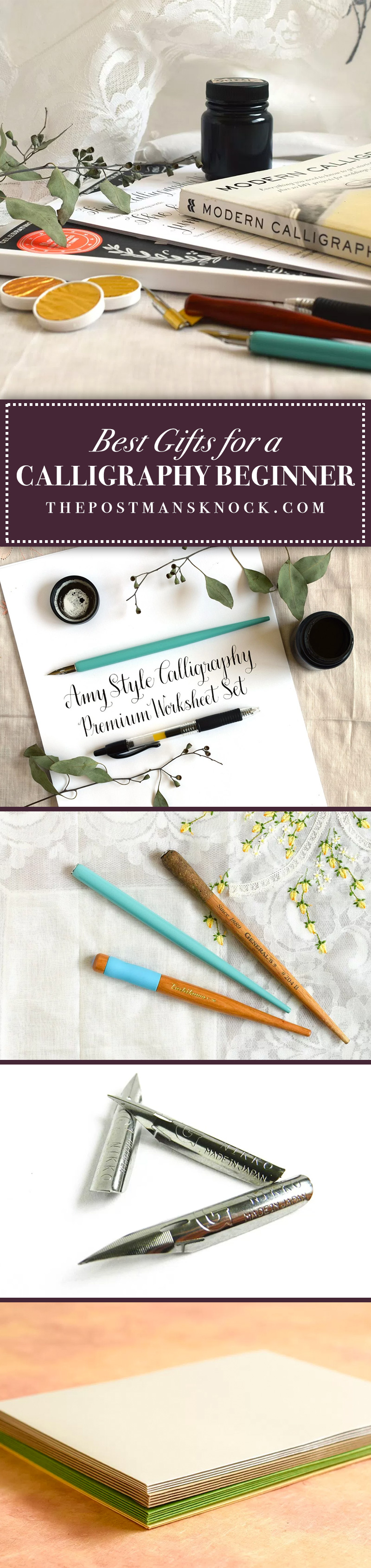 Assemble a starter kit that any calligraphy beginner will love!