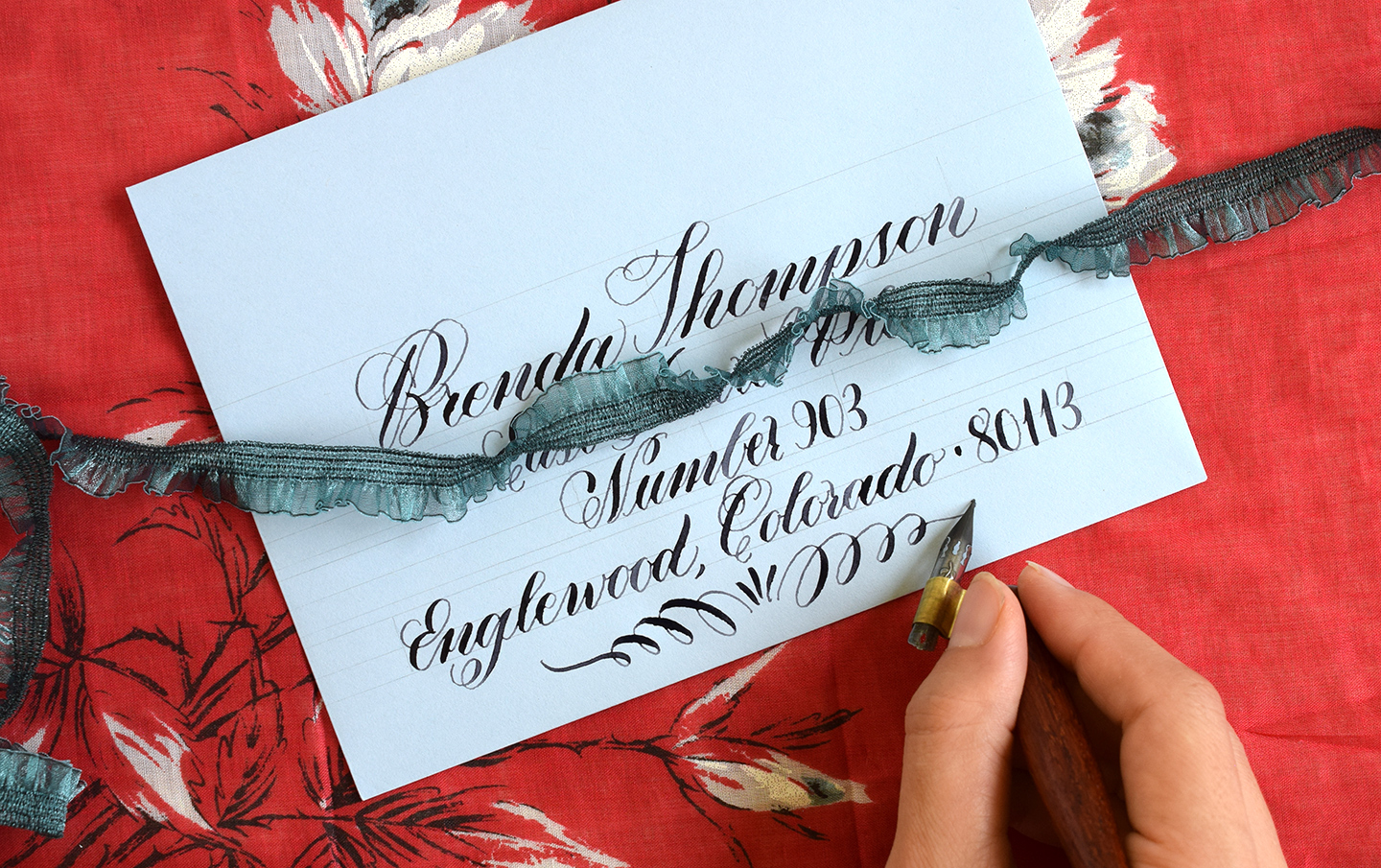 Getting to Know the Brause Rose Nib   The Postman's Knock