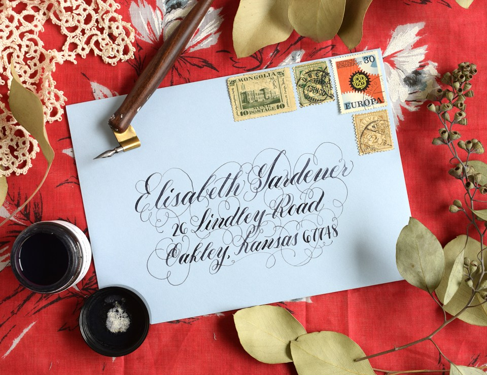 My Five Favorite Calligraphy Inks | The Postman's Knock