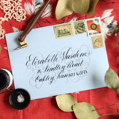 Four Simple Envelope Embellishments: Part I