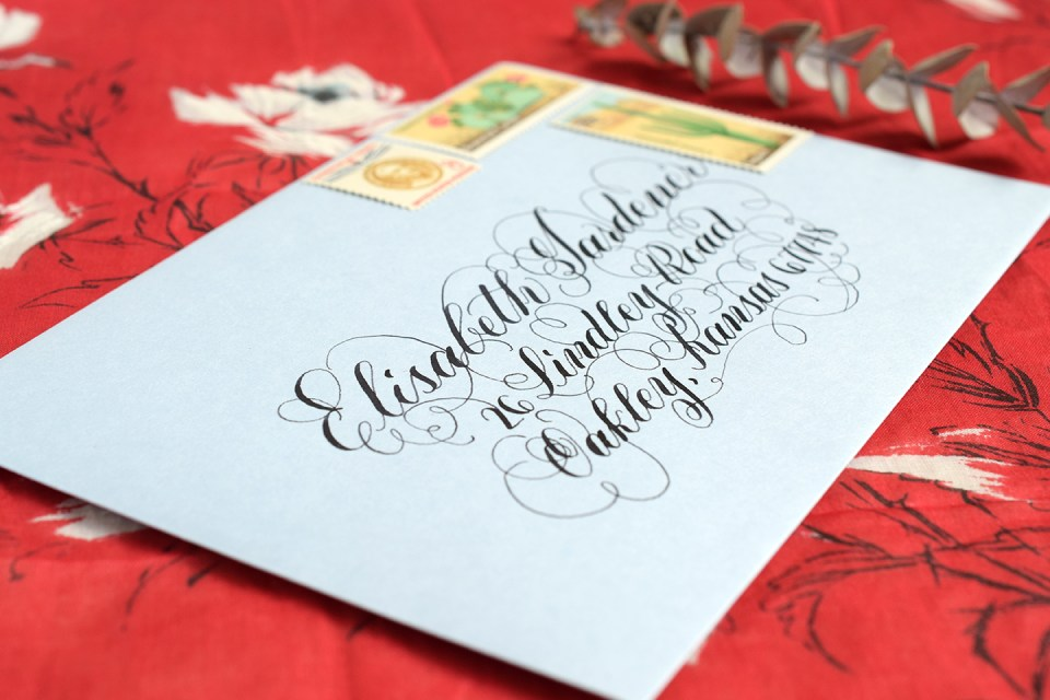 Five Calligraphy Shortcuts | The Postman's Knock