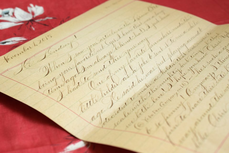 Elegant Letter | The Postman's Knock