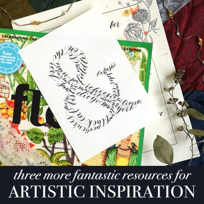 Three More Fantastic Resources for Artistic Inspiration