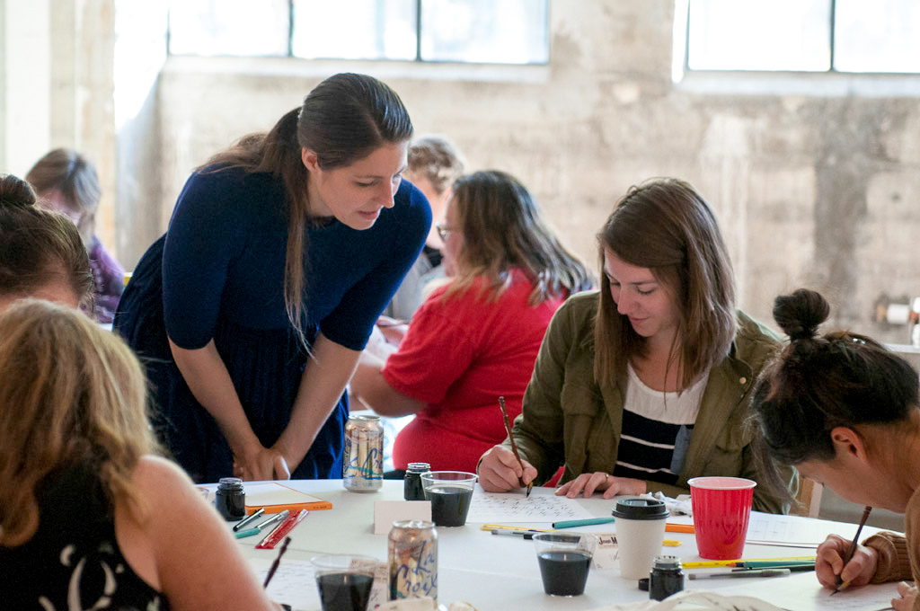 Fall 2016 New York + Florida Modern Calligraphy Workshops | The Postman's Knock