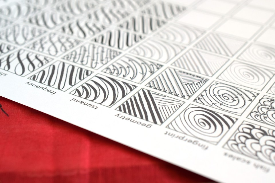 Not your average calligraphy drills sheet the postman s