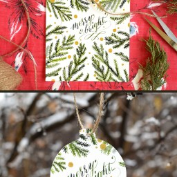 Cut-Out Ornament DIY Holiday Card Tutorial   The Postman's Knock