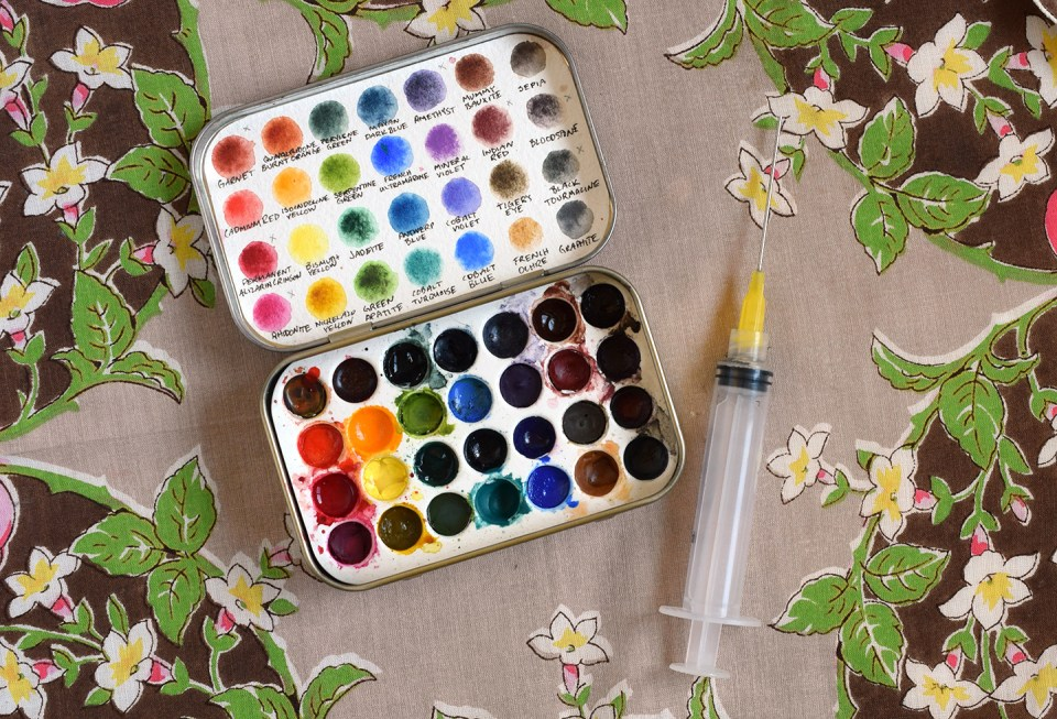 Watercolor Palette | The Postman's Knock