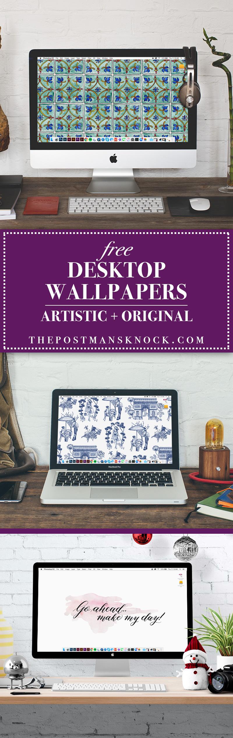 Three Free Desktop Wallpapers | The Postman's Knock