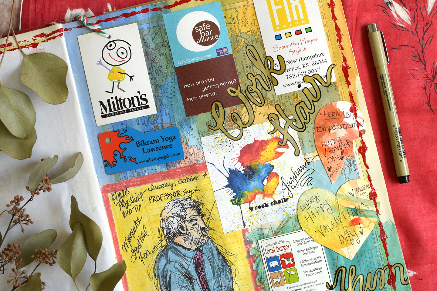 How to Make a Sketchbook Journal (and Why You Should!) | The Postman's Knock