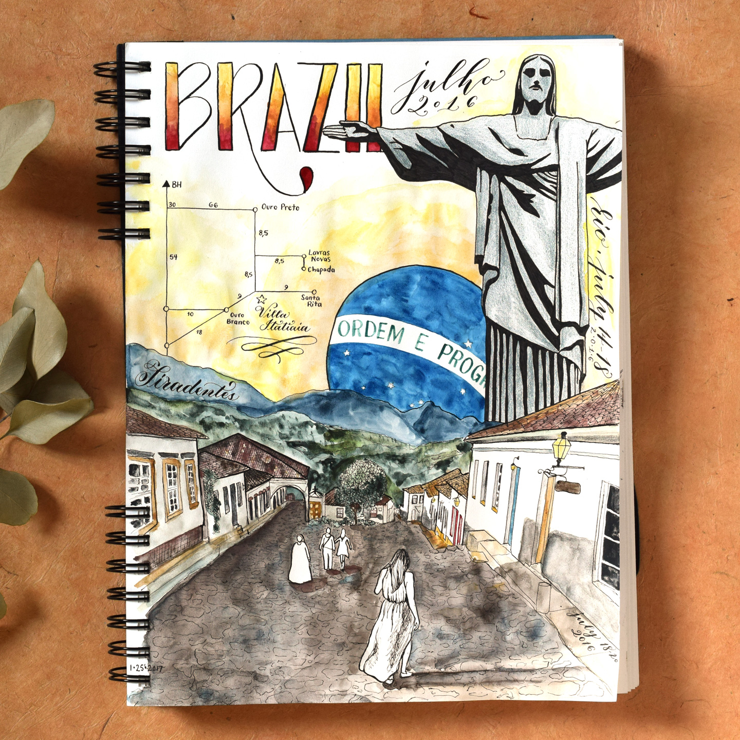 how to make a sketchbook journal  and why you should