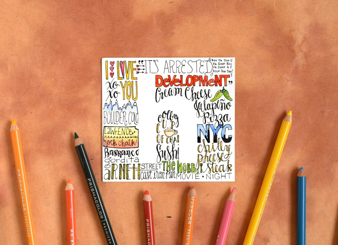 Simple Lettering Art Tutorial | The Postman's Knock