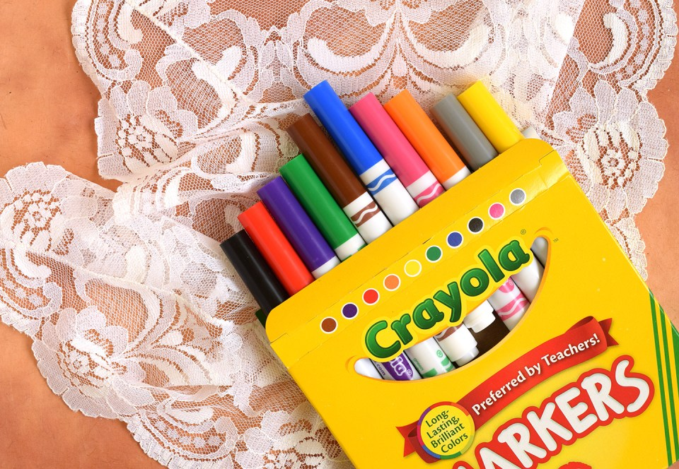 Crayola Markers | The Postman's Knock